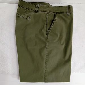 A.N.A Chino Crop - Olive Color - Size 14